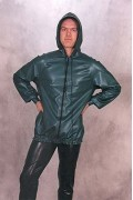 Anorak With Front Zip and Hood