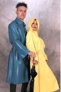 Raincoat with Collar